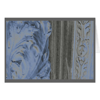 Siena marble in blue card