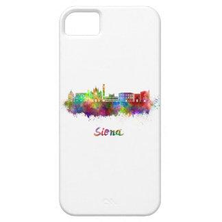 Siena skyline in watercolor iPhone 5 covers