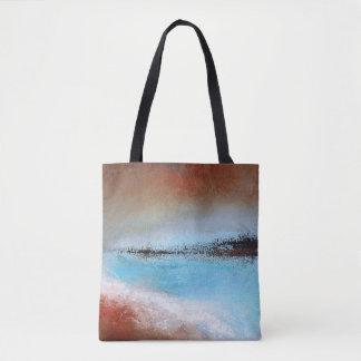 Siena Turquoise Tote Bag