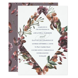 Sienna Botanical | Wedding Card