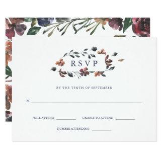 Sienna Botanical | Wedding Response Card