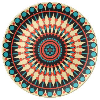 Sienna plate porcelain plates