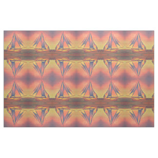 Sienna Sails at Sunset Fabric