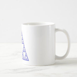 Sierpinski triangle coffee mug
