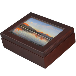 Sierra Crest Sunset - John Muir Trail Keepsake Box