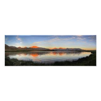 Sierra Crest Sunset - John Muir Trail Photo Print