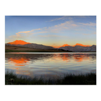 Sierra Crest Sunset - John Muir Trail Postcard