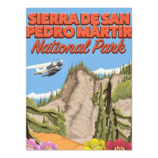 Sierra de San Pedro Mártir National Park 17 Cm X 22 Cm Invitation Card