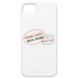 Sierra Leone Been There Done That iPhone 5 Cover