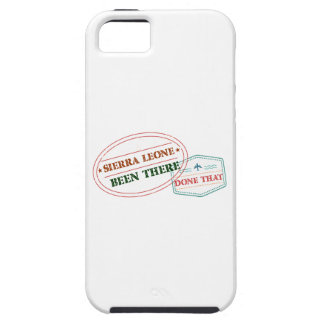 Sierra Leone Been There Done That iPhone 5 Covers