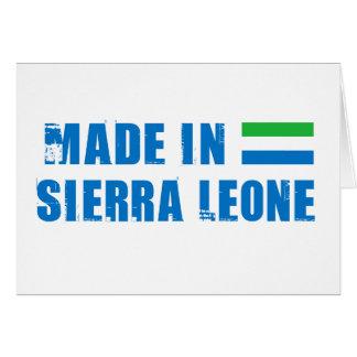 SIERRA LEONE CARDS