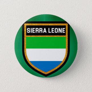 Sierra Leone Flag 6 Cm Round Badge