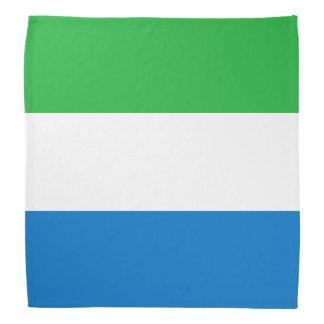 Sierra Leone Flag Bandana