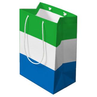Sierra Leone Flag Medium Gift Bag