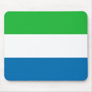 Sierra Leone Flag Mousepad