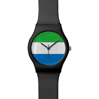 Sierra Leone Flag Watch