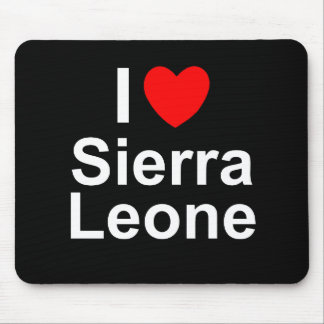 Sierra Leone Mouse Pad