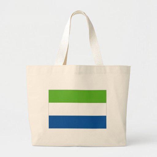 Sierra Leone National Flag Canvas Bag