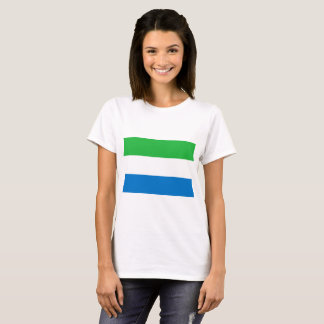 Sierra Leone National World Flag T-Shirt