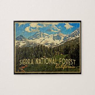 Sierra National Forest California Jigsaw Puzzle