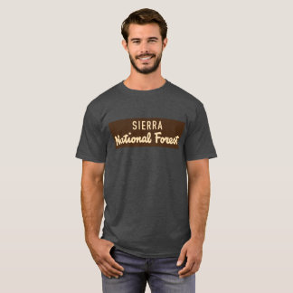 Sierra National Forest T-Shirt