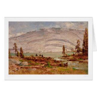 Sierra Nevada Landscape (0709A) Greeting Card