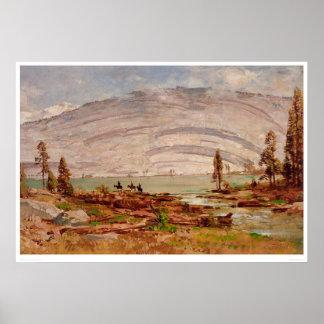 Sierra Nevada Landscape (0709A) Poster