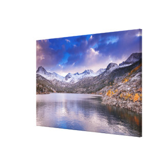 Sierra Nevada Mountains, Autumn, CA Canvas Print