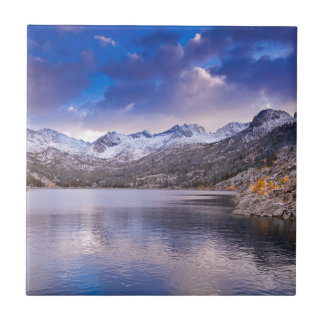 Sierra Nevada Mountains, Autumn, CA Ceramic Tile
