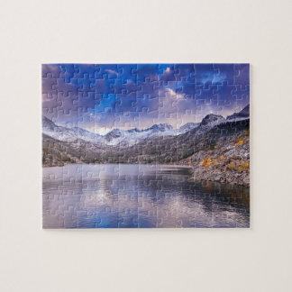 Sierra Nevada Mountains, Autumn, CA Jigsaw Puzzle