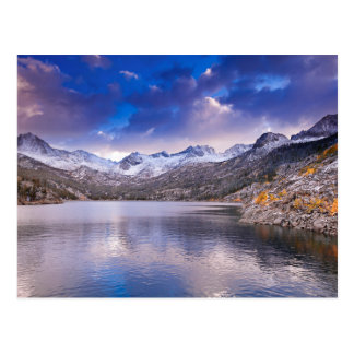 Sierra Nevada Mountains, Autumn, CA Postcard