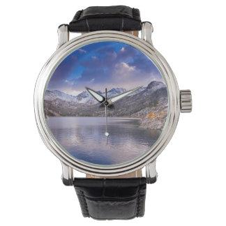 Sierra Nevada Mountains, Autumn, CA Wristwatch