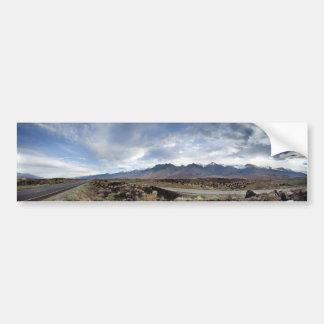 Sierra Nevada Mountains from Owens Valley Bumper Sticker
