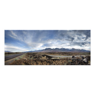 Sierra Nevada Mountains from Owens Valley Photo Print