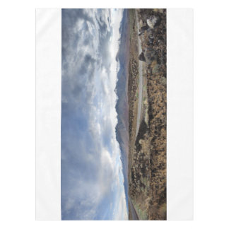 Sierra Nevada Mountains from Owens Valley Tablecloth