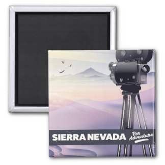 Sierra Nevada Travel poster Magnet