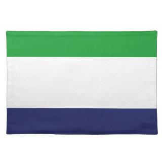 Sierraleoa flag placemat