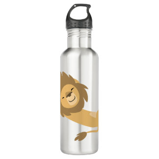 Siesta! Cute Cartoon Lion 710 Ml Water Bottle