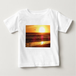 Siesta Key Beach Sunset Baby T-Shirt