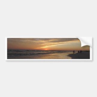 Siesta Key Beach Sunset Bumper Sticker