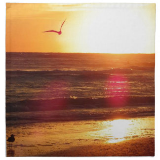 Siesta Key Beach Sunset Napkin