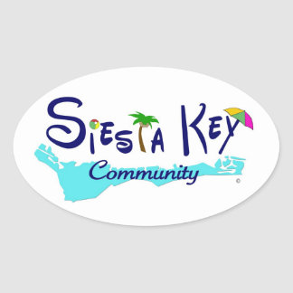 Siesta Key Community Sticker
