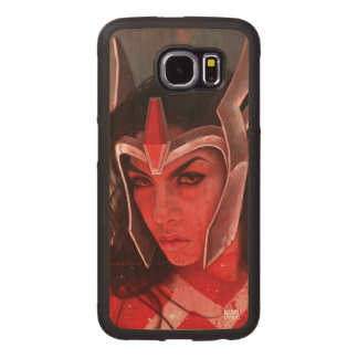 Sif After Battle Wood Phone Case
