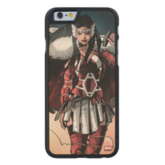Sif In Moonlight Carved Maple iPhone 6 Case