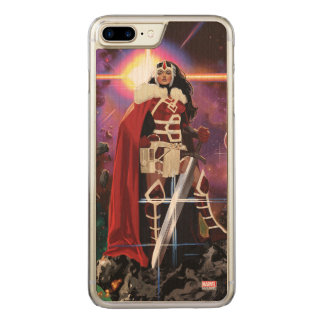 Sif On Asteroid Carved iPhone 8 Plus/7 Plus Case