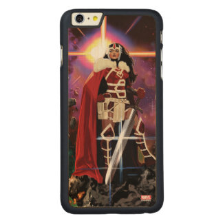 Sif On Asteroid Carved Maple iPhone 6 Plus Case