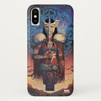 Sif With Sword iPhone X Case