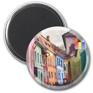 Sighisoara 6 Cm Round Magnet
