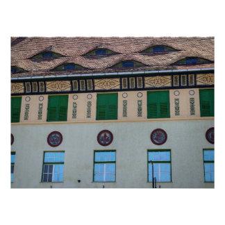 Sighisoara architecture personalized invite