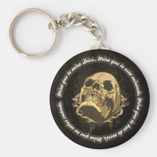 Sight that to you God watches Key Ring